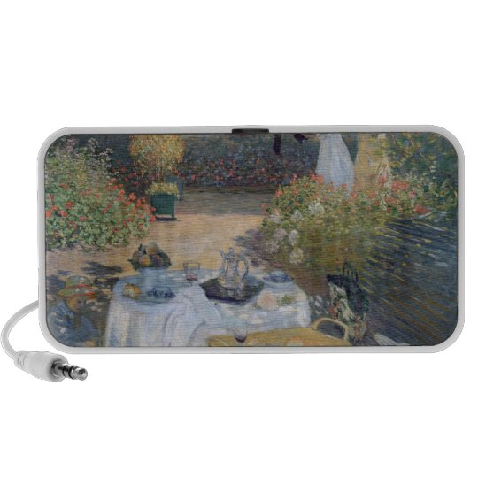 Claude Monet | Luncheon: Monet's garden Argenteuil Mini Speaker