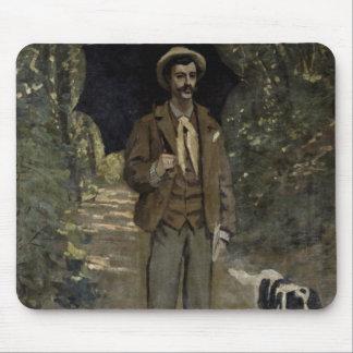 Claude Monet | Man with an Umbrella, c.1868-69 Mouse Pad