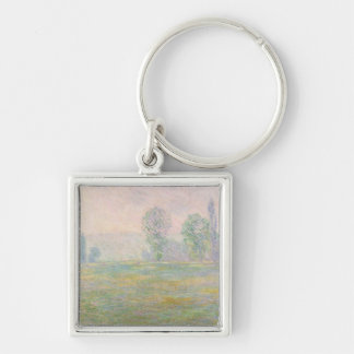 Claude Monet | Meadows in Giverny, 1888 Keychain
