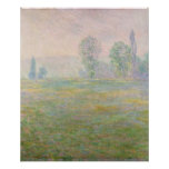 Claude Monet   Meadows in Giverny, 1888 Poster