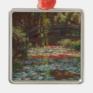 Claude Monet Metal Ornament