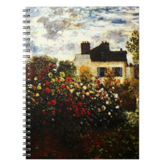 Claude Monet-Monet's Garden at Argenteuil Notebook
