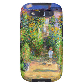 Claude Monet: Monet's Garden at Vétheuil Galaxy SIII Cover