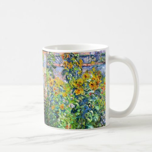 Claude Monet: Monet's Garden at Vétheuil Coffee Mug