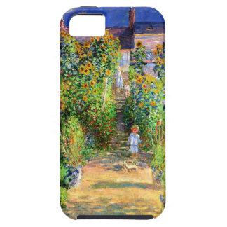 Claude Monet: Monet's Garden at Vétheuil iPhone SE/5/5s Case