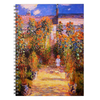 Claude Monet-Monet's Garden at Vétheuil Notebook