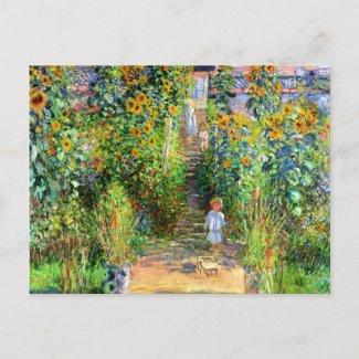 Claude Monet: Monets Garden at Vétheuil