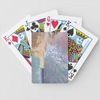 Claude Monet   Morning at Etretat Bicycle Playing Cards