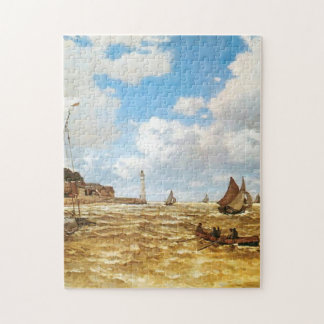 Claude Monet Mouth of the Seine Jigsaw Puzzle