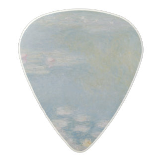 Claude Monet | Nympheas at Giverny, 1908 Acetal Guitar Pick