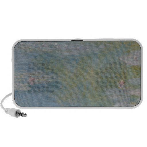 Claude Monet | Nympheas at Giverny, 1908 Portable Speaker