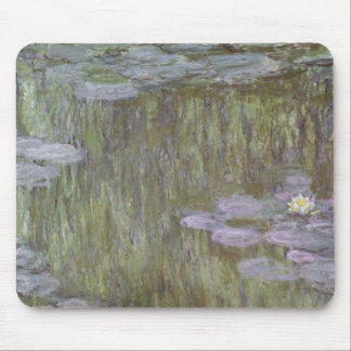 Claude Monet | Nympheas at Giverny, 1918 Mouse Pad
