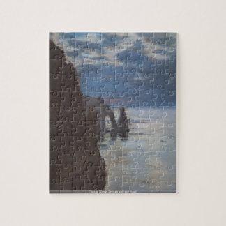 Claude Monet - ocean and sky meet puzzle