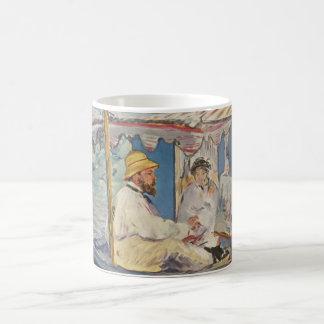 Claude Monet Painting - Edouard Manet Classic White Coffee Mug