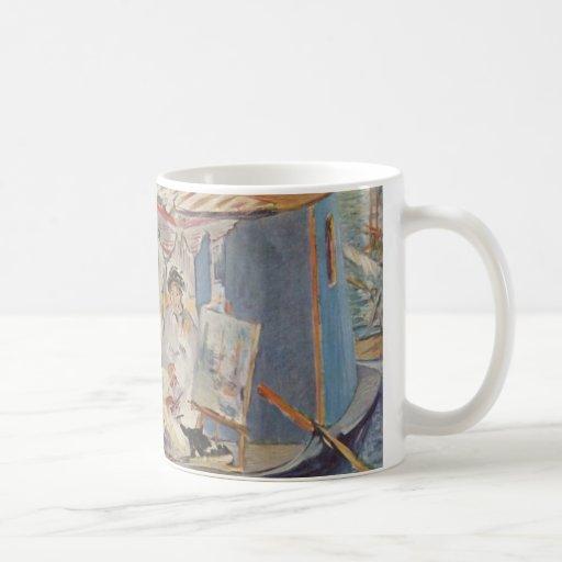 Claude Monet Painting - Edouard Manet Coffee Mug