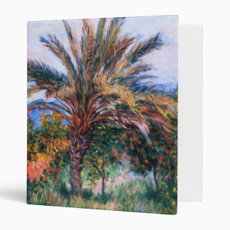 Claude Monet: Palm Tree at Bordighera 3 Ring Binder
