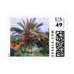 Claude Monet: Palm Tree at Bordighera Postage Stamp