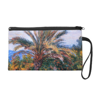 Claude Monet: Palm Tree at Bordighera Wristlet Purse