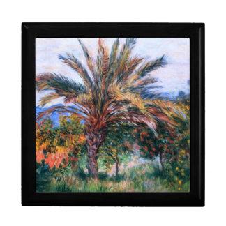 Claude Monet: Palmera en Bordighera Cajas De Recuerdo