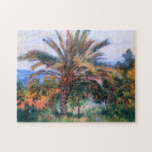 Claude Monet: Palmera en Bordighera Puzzle
