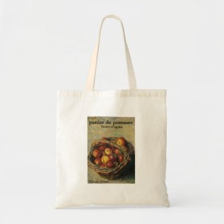 """Claude Monet """"Panier de Pommes"""" Tote Bag"""