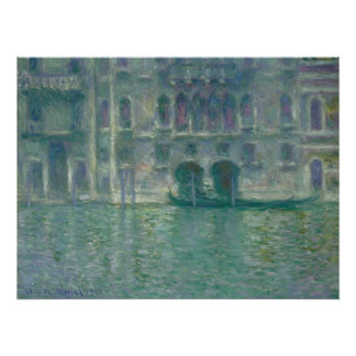 Claude Monet | Panoramic View of the Ile-de-France Poster