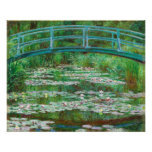 Claude Monet: Pasarela japonesa Impresiones