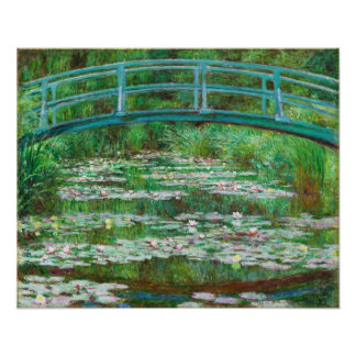 Claude Monet Pasarela japonesa Impresiones