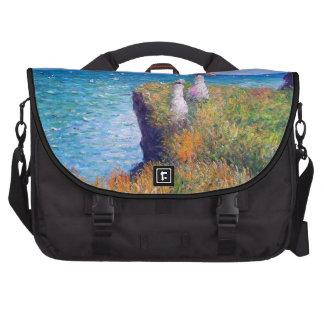 Claude Monet: Paseo del acantilado en Pourville Bolsas De Portatil