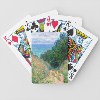 Claude Monet: Path at La Cavee Pourville Bicycle Playing Cards