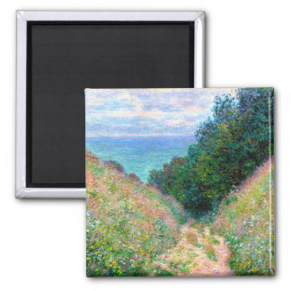 Claude Monet: Path at La Cavee Pourville Magnet