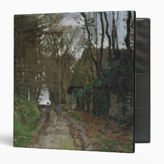 Claude Monet | Path in Normandy 3 Ring Binder