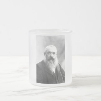 Claude Monet Photo by Felix Nadar in 1899 10 Oz Frosted Glass Coffee Mug