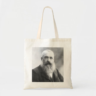 Claude Monet Photo by Felix Nadar in 1899 Tote Bags
