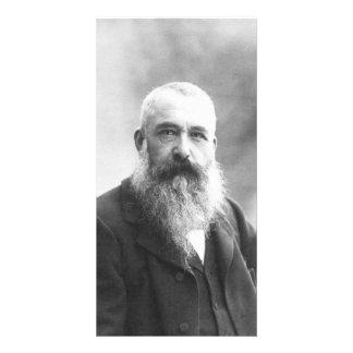 Claude Monet Photo by Felix Nadar in 1899 Card