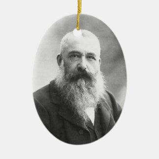 Claude Monet Photo by Felix Nadar in 1899 Ornament