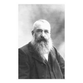 Claude Monet Photo by Felix Nadar in 1899