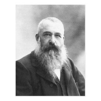 Claude Monet Photo by Felix Nadar in 1899 Postcard
