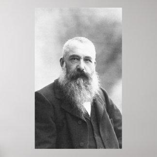 Claude Monet Photo by Felix Nadar in 1899 Print