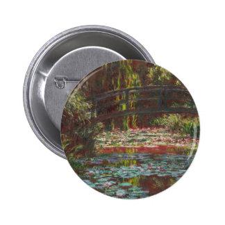Claude Monet Pin Redondo De 2 Pulgadas