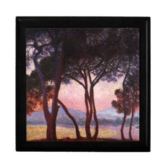 Claude Monet: Pines Jewelry Box