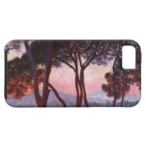 Claude Monet: Pinos iPhone 5 Cobertura