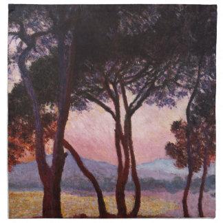 Claude Monet Pinos Servilletas De Papel