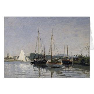 Claude Monet | Pleasure Boats, Argenteuil, c.1872- Card