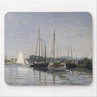 Claude Monet | Pleasure Boats, Argenteuil, c.1872- Mouse Pad