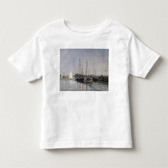 Claude Monet   Pleasure Boats, Argenteuil, c.1872- Toddler T-shirt