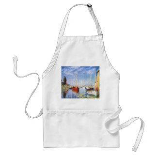 Claude Monet: Pleasure Boats at Argenteuil Adult Apron