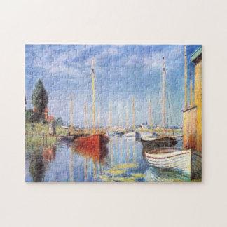 Claude Monet: Pleasure Boats at Argenteuil Jigsaw Puzzle