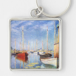 Claude Monet: Pleasure Boats at Argenteuil Keychain
