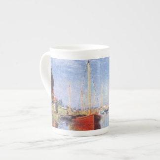 Claude Monet: Pleasure Boats at Argenteuil Tea Cup